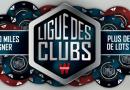 1ère manche Ligue des Clubs – mercredi 26 septembre à 21h